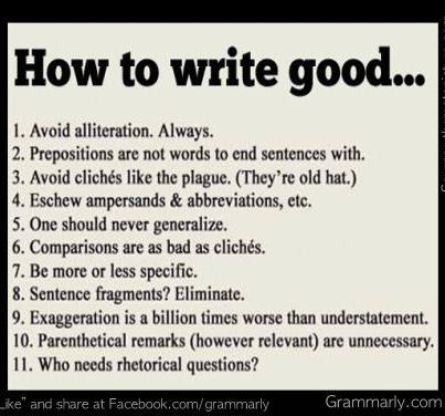 How To Write Good - Youth Speaker Kent Julian. Motivational Youth
